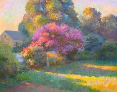 John Ebersberger: Gardens Edge Late Light