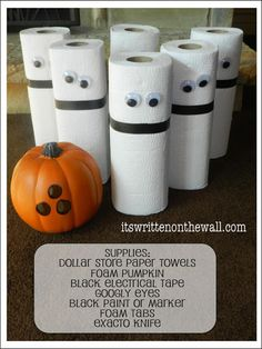 It's Written on the Wall: Boo Bowling! A Ghostly Halloween Party Game that's Fun for the kids