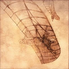 Abbás Ibn Firnás, Leonardo Da Vinci