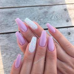Hot Color Shades to Stay Fashionable with Ballerina Nails ❤ What Could Be More Feminine Than Lilac picture 2 ❤Ballerina nails seem to be not for everyone. Yet, once you learn about the perfect shades to combine with this shape you will definitely change your mind!https://naildesignsjournal.com/ballerina-nails-colors/  #nails #nailart #naildesign  #coffinnails