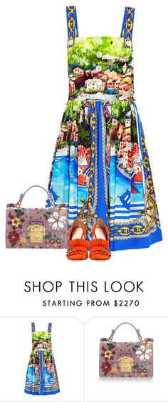 """Без названия #4784"" by maria-kononets ❤ liked on Polyvore featuring Dolce&Gabbana and Gucci"