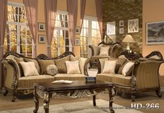 Homey Design Sofa Set HD 266 Facebook.com/alcovedecor We Will Beat Any Price