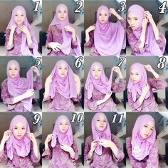 This hijab style is stunning, beautiful yet simple to create, it has many folds, flowing sides and a full coverage, you can make it with a maxi hijab, with no further here are the steps for this look. Place the…