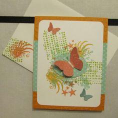 Exteme Element stamp set card, Stampin' Up