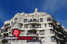 La Pedrera, Barcelona. Grup Actialia ofrece sus servicios en Barcelona: Diseño web, Diseño gráfico, Imprenta y Rotulación. www.grupoactialia.com