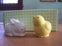 Easter Salt and pepper shakers from Hallmark