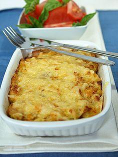 Zapiekanka z ziemniaków i kukurydzy w stylu amerykańskim