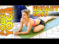 Beginners Power Yoga For Weight Loss  Total Body Workout  45 Minute Yoga Class
