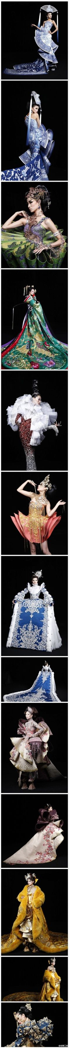 The absolutely exquisite work of Guo Pei - These women are works of art.