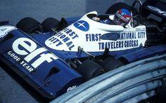 Patrick André Eugène Joseph Depailler (FRA) (Elf Team Tyrrell), Tyrrell P34B - Ford-Cosworth DFV 3.0 V8 (RET)  1977 Monaco Grand Prix, Cir...