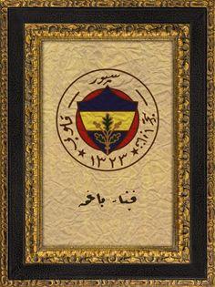 Osmanlı Dönemi Fenerbahçe Logosu sadece 75 tl detay bilgi : 0535 394 0193 www.livacraft.com