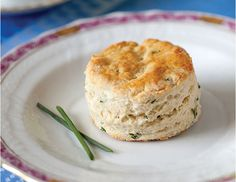 These Chive and Goat Cheese Scones are studded with delicate fresh chives and creamy chèvre. Chive and Goat Cheese Scones