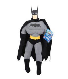 Justice League Dc Comics Plush 15 Tall Plush Batman Action Figure Doll -Black Cloth @ niftywarehouse.com #NiftyWarehouse #Batman #DC #Comics #ComicBooks