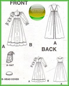 italian Renaissance dress | Details about Italian Renaissance Dress/Gown Pattern Medici SCA 8-12
