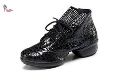 Minitoo , Salle de bal femme - noir - Black-4cm Heel, - Chaussures minitoo (*Partner-Link)