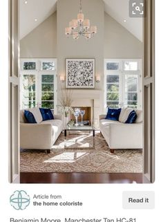 Living Room Color   The Paint On The Walls Is Manchester Tan By Benjamin  Moore. | Design Ideas | Pinterest | Manchester Tan, Benjamin Moore And Living  Room ...