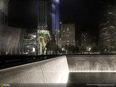 World Trade Center, New York, September 11th Memorial.  Photo by Caridad Sola.