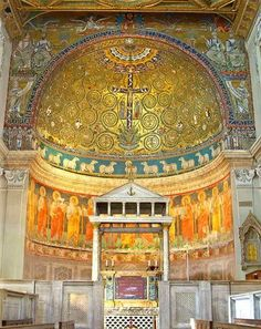 Church of San Clemente, Rome. Consecrated 1128