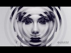 """Today we will learn to create this """"Circular Mirror Effect"""" or you can say """"Digital Art"""" by using circular ring shape step by step. if you like this tutorial. Digital Art Photography, Paint Photography, Photoshop Photography, Photoshop Projects, Photoshop Design, Photoshop Tutorial, Distortion Photography, Photo Manipulation Tutorial, Dibujo"""
