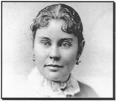 Lizzie Borden (1860 – 1927) – Famous accused American hatchet murderess of her father and step-mother in Massachusetts in 1892. She was tried and acquitted of the murders although public scorn punished her for the rest of her life. She remains immortalized in American folklore with an infamous jump-rope rhyme about the murders, as well as a humorous folk song.