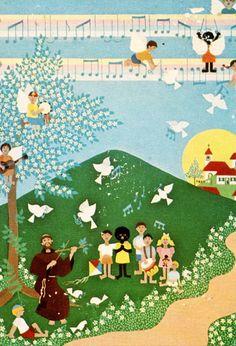 Beto Coelho: São Francisco na arte naif « Franciscanos.org.br