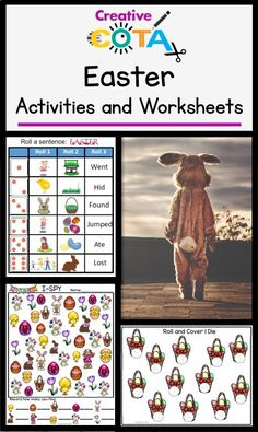 Find activities and worksheets to support fine motor, writing, math, visual perceptual and gross motor skills in my store. Most activities and worksheets are differentiated and work for students with a variety of abilities and ages. Special Education Activities, Special Education Classroom, Classroom Activities, Easter Activities, Holiday Activities, Hands On Activities, Spring Theme, Gross Motor Skills, Student Work