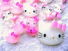 #WHOLESALE Hello Kitty 15 Cabochons Charms Pack 4 by DecoSweets