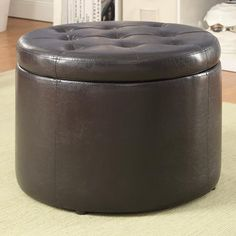 Convenience Concepts Designs 4 Comfort Round Shoe Storage Ottoman & Reviews | Wayfair