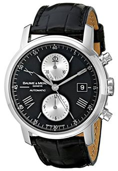 Men's Wrist Watches - Baume  Mercier Mens 8733 Classima XL Watch *** Want to know more, click on the image.