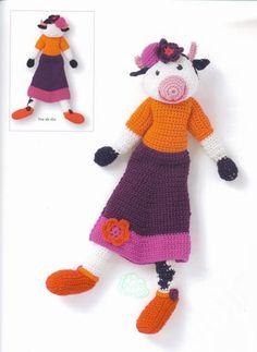 Blog de le-tricot-de-marcelle - tuto vache crochet