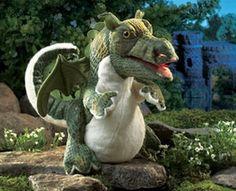 Baby Dragon Hand Puppet