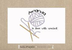 Premade Logo Watermark Yarn Crochet Hooks Blog In Love With Solipandi Design Studio 034