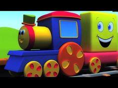Bob o trem número português aventura | aprender os números em português | bob a compilação de trem - YouTube