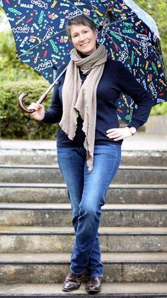 High Class Leger Chic - die Details machen es aus - Ines Meyrose #ootd 20170416 Jeans s.Oliver, Kaschmirrollkragenpullover AC AppelrathCüppe, Wollstalo Eva Schreiber