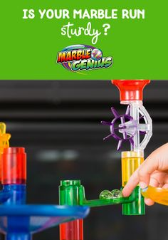 Is Your Marble Run Sturdy? These 6 questions will help you buy the sturdiest marble run toy possible and ensure hours of fun for your kids! Marble Toys, Steam Toys, Best Kids Toys, Parent Resources, Family Game Night, Learning Through Play, Building Toys, Running, This Or That Questions