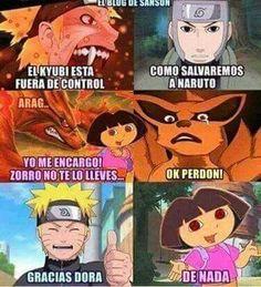 Naruto y Dora Naruto Comic, Sasuke X Naruto, Naruto Art, Anime Naruto, Naruko Uzumaki, Shikamaru, Naruto Shippuden, Boruto, Anime Meme