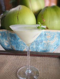 What do you feel like having for a drink? Here at Four Seasons Four Seasons Resort Koh Samui, Thailand, we opt for something tropical like this #Coconut Swirling #cocktail. Care to join us? #FSTaste #TastesofThailand