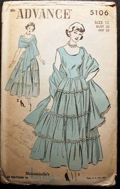 Advance summer dress #5106, size 12 bust 30.