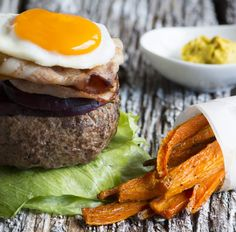 Just because you are treating SIBO doesn't mean you have to miss out on burgers! You won't even notice the lack of bun with this juicy Aussie burger, and the carrot chips are a fun play on the traditional potato chip.