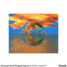 Decorate your walls with canvas prints from Zazzle! Choose from thousands of great wrapped canvas to beautify your home or office. Canvas Canvas, Canvas Art Prints, Wrapped Canvas, Earth, Awesome, Poster, Billboard, Mother Goddess, World