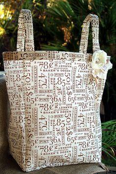 DIY Grocery Bags