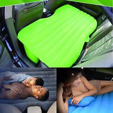 New Inflatable Travel Holiday Camping Car Seat Sleep Rest Spare Mattress Air Bed
