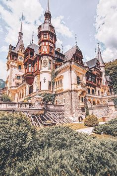 10 Most Beautiful Castles in Europe to Add to Your Europe Bucket List Cаѕtlеѕ in Rоmаniа! Peles Cаѕtlе, Romania is one of the 10 Most Beautiful Castles in Europe to Add to Your Europe Bucket List. I love these castles! Beautiful Castles, Beautiful Places, Beautiful Beautiful, Beautiful Lingerie, Places To Travel, Places To See, Travel Destinations, Bucket List Europe, Bucket Lists