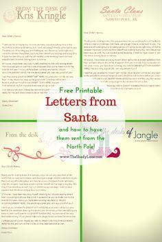 letter from santa mr printables elf pinterest elves