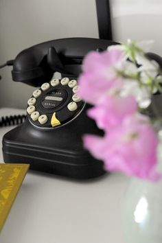 i could spend hours on this vintage phone to a far off friend!