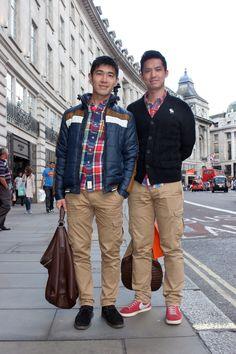 Raymond Chen and Eric Hsu #RegentStreetStyle