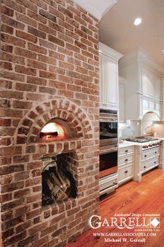 brick oven - for pizza, pasta and sandwiches!! dream.