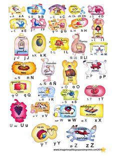 abecedario con imagenes - Buscar con Google