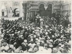 Discurso de Victor Nogin en la Plaza Roja, 1 de marzo de 1917 - 1 de noviembre de 1917, Moscú