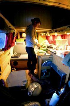trailer/van kitchen
